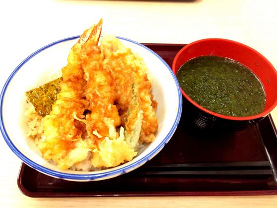 関西で安い天丼・天ぷら【さん天】