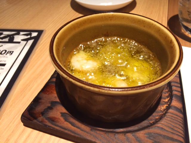心斎橋・長堀橋にある安いバル★炭焼ごちそう美酒 ぴたりのアヒージョ