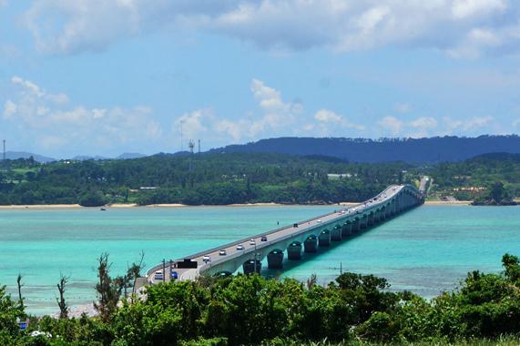 沖縄の観光【古宇利大橋】