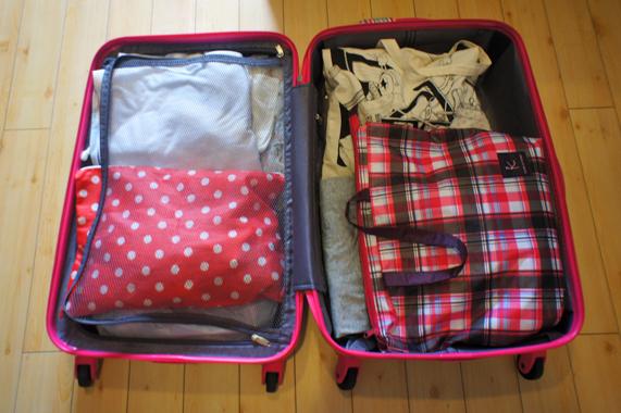 おすすめの格安スーツケースの中身